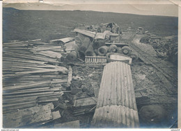 Photo (17,5 X 12 Cm) : Guerre 1914/18 - Autour Du Fort De Douaumont - Gare Wagner (BP) - Guerra, Militares