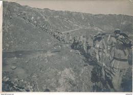 Photo (17,5 X 12 Cm) : Guerre 1914/18 - Route De Verdun à Douaumont (BP) 1.WK - WW1 - Guerra, Militares