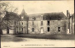 CPA Martigné Briand Maine Et Loire, Château De La Barre, Vue Générale - Sonstige Gemeinden