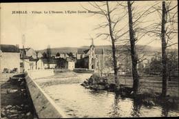 CPA Jemelle Namur Wallonien, Village, Le L'Homme, L'Eglise Sainte Marguerite - Other