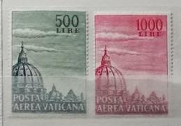 Vatican 1953 / Yvert Poste Aérienne N°22-23 / ** - Poste Aérienne