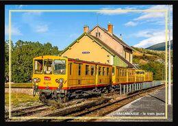 66    SAILLAGOUSSE  .... Départ Du  Train  Jaune - Andere Gemeenten