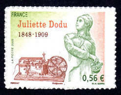 FRANCE 2009 - Autoadhésif Yvert N° 371 NEUF, Juliette Dodu - KlebeBriefmarken