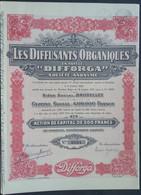DIFFORGA  Bruxelles 1930 Product Voor Leerlooierijen En Textielbehandeling - Industrial