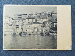 OHRID MAKEDONIJA MACEDONIA, RIBARSKE MREŽE, Postcards Traveled 1948 (Y3) - Macedonia