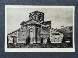 Ohrid - Makedonija / Macedonia, Church Of Saints Clement And Panteleimon, Crkva Sv. Kliment, Old Postcard (Y3) - Macedonia