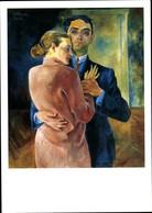 Artiste CPA Felixmüller, C., Selbstbildnis Mit Frau, Mann Und Seine Ehefrau - Sin Clasificación