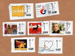 BRD - Marke Individuell -  Gest - 7 W - Orgel Aufkirchen, Post, Wdv, Hamburg 2024, Strom, London 2012 - Privados & Locales