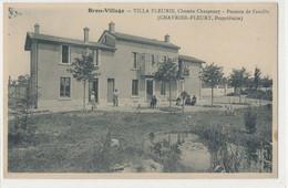 69 - Rhône - Bron Village - Villa Fleurie Chemin Charpeney Pension De Famille Chevrier Fleury Proprietaire - Bron