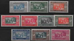 Sénégal 1927 - Série N° 102 à 109 Complète ,  Neuf *  - Cote 40 € - Unused Stamps