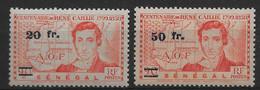 Sénégal 1944 -  N° 196, 197 ,  Neuf ** - Unused Stamps