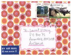 (AA 13 A)  China Hong Kong Posted To Australia - 2019 - Cartas
