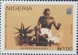 Nigeria 2019 Gandhi 1v Mint Hologram - Nigeria (1961-...)