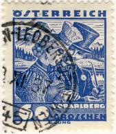AUTRICHE / ÖSTERREICH 1937 St.PÖLTEN-LEOBERSDORF-WIEN 145 Bahnpoststempel Mi.561 - Gebruikt