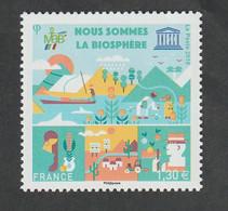 """Service  - 2018  -  N°172   - """"Nous Sommes La Biosphère """"-  Neuf  Sans Charnière- - Ungebraucht"""
