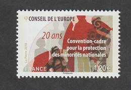 """Service  - 2018  -  N°173   - """"20 éme Anniversaire De La Convention Cadre """"-  Neuf  Sans Charnière- - Ungebraucht"""