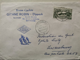 Union Cycliste, Gitane Robin Dippach 1974 Envoyé à Luxembourg - Covers & Documents