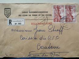 Ligue Luxembourgeoise Du Coin De Terre, Oblitéré 1974 Envoyé à Contern. Oblitéré Oetrange - Covers & Documents