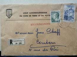 Ligue Luxembourgeoise Du Coin De Terre, Oblitéré 1973 Envoyé à Contern. Oblitéré Oetrange - Covers & Documents