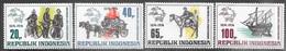 Indonesia  1974   Sc#922-5   UPU Set  MNH   2016 Scott Value $10 - Indonesien