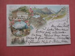 Switzerland  Gruss Vom Splugen   Ref  4523 - Non Classificati