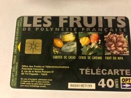 5:314 - French Polynesia Les Fruits - Polinesia Francese