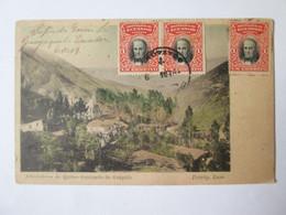 Rare! Ecuador-Guapulo Sanctuary,1909 Mailed Postcard - Equateur