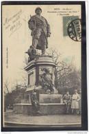 5783 . METZ . MONUMENT PROVISOIRE . AU POILU A L ESPLANADE - Metz