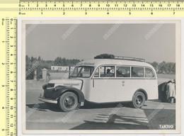 REAL PHOTO, Old  Bus Agencija ''Putnik'' Beogead 1940s Yugoslavia Tanjug Press Photo ORIGINAL  PHOTO SNAPSHOT - Cars