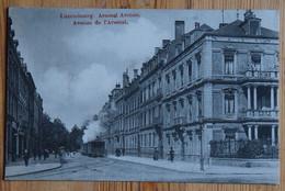 Luxembourg - Avenue De L'Arsenal - Animée : Petite Animation - Train - Pl Vertical (bord Bas) - (n°19098) - Luxemburg - Stad