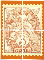 Document De Philaposte - Simili Bloc - Type Blanc - Postdokumente