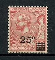 MONACO  1922 N° 52 ** Neuf MNH Superbe Cote 5 € Beau Centrage Prince Albert Ier - Unused Stamps
