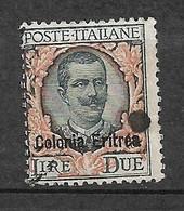 Erythrée Colonie Italienne  N° 97 Oblitéré B/TB       Soldé  à Moins De 10  %            Le Moins Cher Du Site ! ! ! - Eritrea