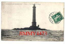 CPA - GOURY - Le Phare De La Hague - Environs De CHERBOURG 50 Manche - Edit. Ancre Cherbourg - Scans Recto-Verso - Lighthouses
