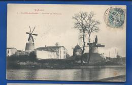 CASTELNAUDARY    Groupe De Moulins     écrite En 1906 - Castelnaudary