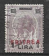 Erythrée Colonie Italienne  N° 60 Oblitéré B/TB       Soldé  à Moins De 10  %            Le Moins Cher Du Site ! ! ! - Eritrea