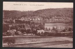 CPA  : Courcelles      Vue Prise De Rougemont  Carte écrite Année 1946 - Altri Comuni