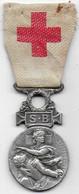 Médaille De La Société Française De Secours Aux Blessés Militaires - Frankrijk