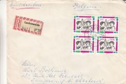 Allemagne - République Démocratique - Lettre Recom De 1964 - Oblit Luckenwalde - Sports - - Briefe U. Dokumente