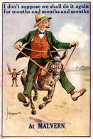 JLBIGGAR AT MALVERN  I Don't Suppose We Shall Do It Again... BURRO ANE DONKEY EZEL ESEL Donkeycollection - Non Classificati