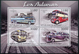 D - [32573]SUP//**/Mnh-c:19e-BURUNDI 2012 - Les Autocars, Transport, Bus - Bussen