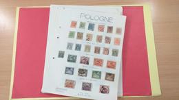 Lot N° TH 103 POLOGNE   Neufs X Ou Obl Sur Page D'albums - Sammlungen (im Alben)