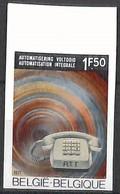 NB - [853302]TB//ND/Imperf-c:10e-Belgique 1971 - N° 1567, ND/Imperf, Téléphone - Nuevos