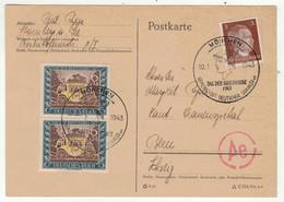 Allemagne // IIIe Reich // Journée Du Timbre 1943- Tag Der Briefmarken - Brieven En Documenten