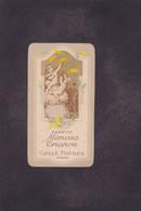 Publicité Carte Parfumée Parfum Beauté Mimosa Trianon Gellé - Vintage (until 1960)