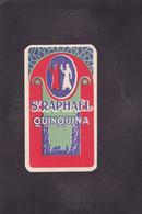 Publicité Carte Parfumée Parfum Beauté Saint Raphaël Quinquina Violettes D'orient Doublet Calendrier - Vintage (until 1960)