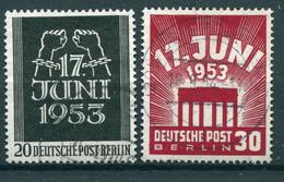 Berlin - Michel 110/111 Gest. - Usados