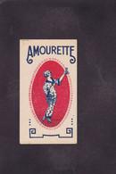 Publicité Carte Parfumée Parfum Beauté Amourette - Vintage (until 1960)