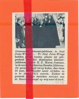 Orig. Knipsel Coupure Tijdschrift Magazine - Sint Joris Winge - Kloosterjubileum Z. Maria Joannes, Kath. Alderson - 1939 - Ohne Zuordnung