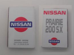 Pochette D'allumettes  : NISSAN PRAIRIE 200SX  / 15 Allumettes / A Dû être Utilisée - Matchboxes